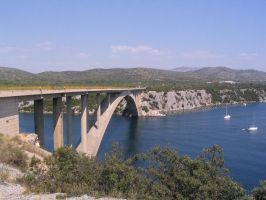 Bridge in Croatia by geerybacsi