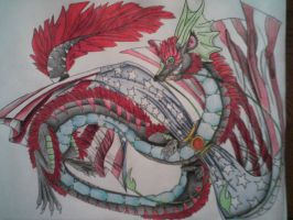 Lung dragon as me! by AmericanBlackSerpent
