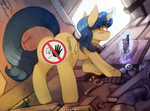 Closed For Maintenance by FoxInShadow