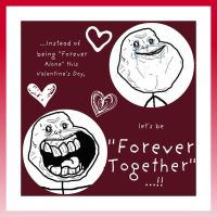 Forever Together Valentine's Card 3 by Juandii