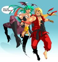morrigan likes kens by wez1010