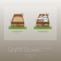 Graffiti Boxes by Stylenatic