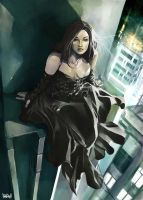 Urban Vampire Lady by Vandrell