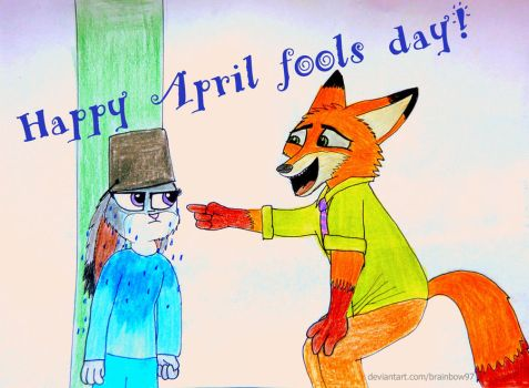 April fools day by brainbow97
