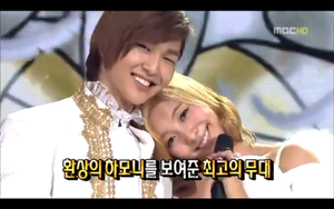 Onew and Luna Love by heartykeykeke