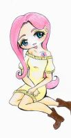 Fluttershy by Melody-in-the-Air