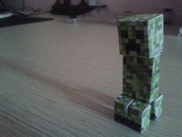 Minecraft - Creeper by DelvinKurniawan77