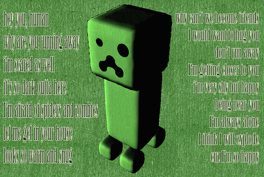 A creeper thought by Belfa96