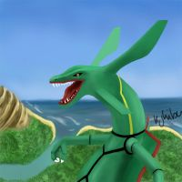 Rayquaza by umbreon17