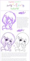 Photoshop Drawing and Coloring Tutorial by StrawberrieCandie