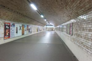LONDON - Inside Tube by elodie50a