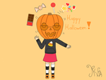 Happy Halloween! by Natsumi-no-hibi