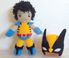 Wolverine without his Mask by telshira