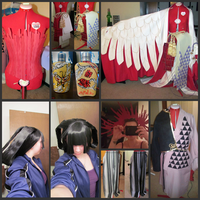 Yuuko and Doumeki Progress 1 by MissLaneyLuck