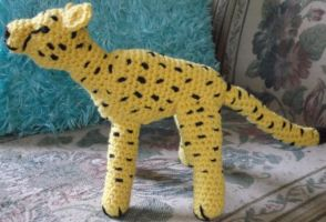 Crochet Cheetah Amigurumi by ShadowOrder7