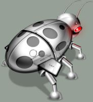 Darker Chrome Ladybug by TheRyanFord