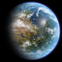 Terraformed Mars by Ittiz