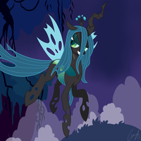 Queen Chrysalis by Mewyk91