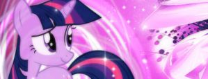 Twilight Sparkle - Magic Flower Sig by Unfiltered-N