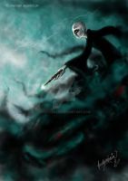 Lord Voldemort by andycobain
