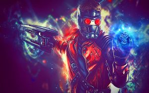 StarLord By Mike Smith by mikesmithimages