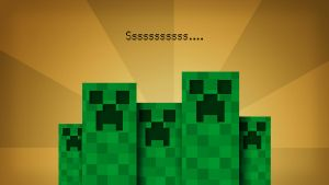 """Creepers"" Wallpaper by ChaosBolt"