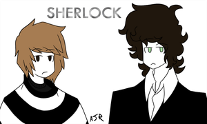 Sherlock+John by just-Abigail