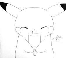 Pikachu :3 by thehandle18