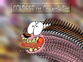 Courage the Cowardly Dog by laughlady99
