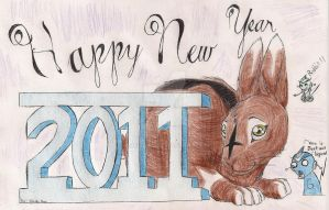 Happy New Year 2011 by o0Risa0o