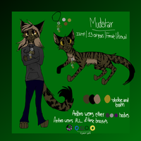 Mudstar Ref by Mudstarcissistic