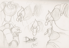 Drake sketch dump...1? by Deathlast