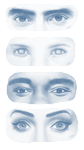 different types of eyes by C0UGHDR0P