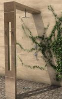Exterior shower by capsat
