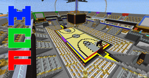 Minecraft Furniture Court by Cheesedoctor22