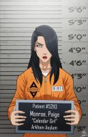 Paige Monroe locked up by phil-cho