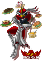 Takeshi, the Iron Chef by ShadowScarKnight