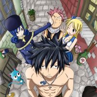 Fairy Tail Chapter Cover 230 by Adelaide-Chrome