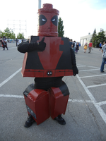 Anime North 2012 - Lego Deadpool Cosplay by jmcclare