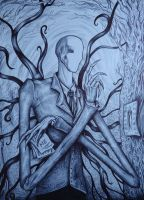 The Slenderman by MaryDec