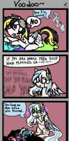 MLP: Mini comic - Voodoo DOES exist! (for me xD) by KikiRDCZ