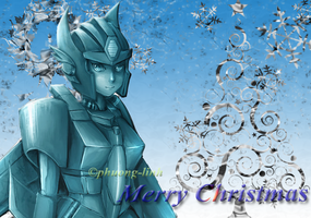 Example Christmas Card (Sapphirius) by Phuong-Linh