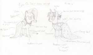 Eyes On You - Dress Concept by UnlicensedBrony