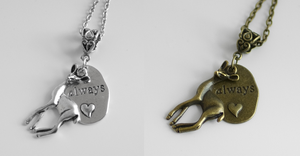 Always Doe Necklaces by MonsterBrandCrafts