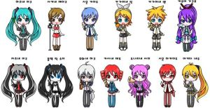 vocaloids by tyrblue