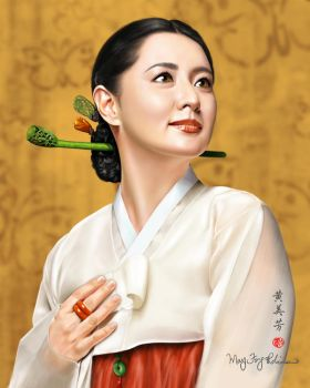 Lee Young Ae by MayFong