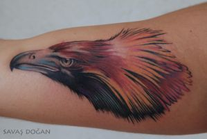 Eagle Tattoo by Moviemetal3