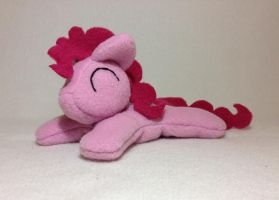 Pinkie Pie beanie plush by Bewareofkitty