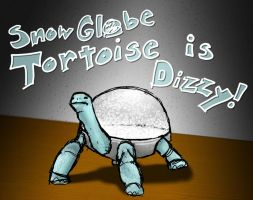 Snow Globe Turtle by Metallicfire0