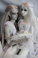 of elves, winter... and love by Umrae-Thara